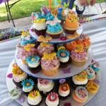 Birthday Cupcake Tower