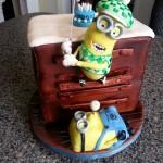 Minion Golf Cake
